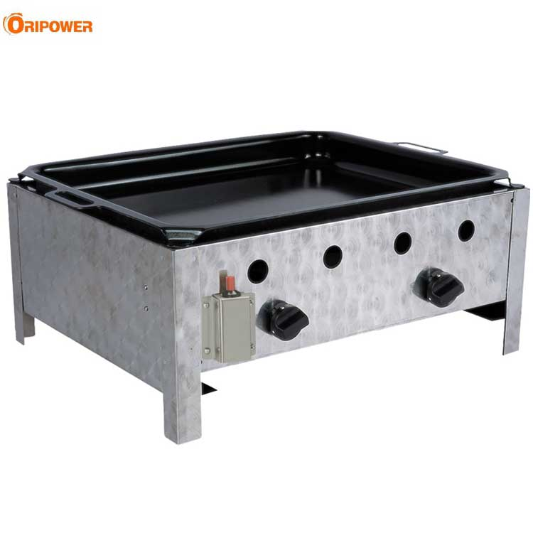 K1102A Stainless Steel Outdoor Commercial 2 burners Gastro Gasgrills