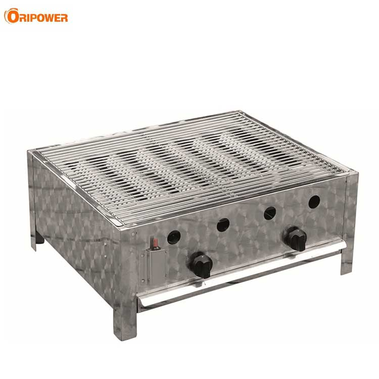 K1102B Stainless Steel Outdoor Commercial 2 burners Gastro Gasgrills