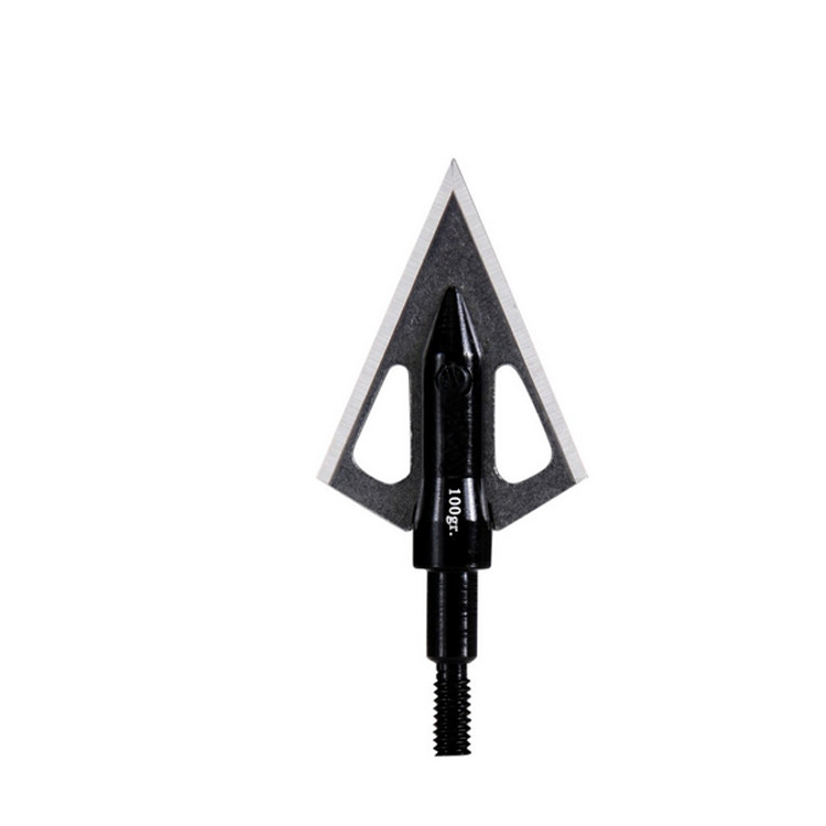 J15590 2-blade cut-on-contact 100gr.screw-in fixed broadhead