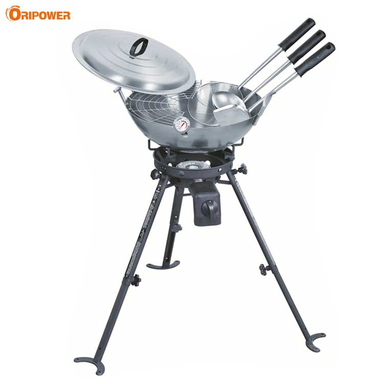 Carbon Steel Wok Kit