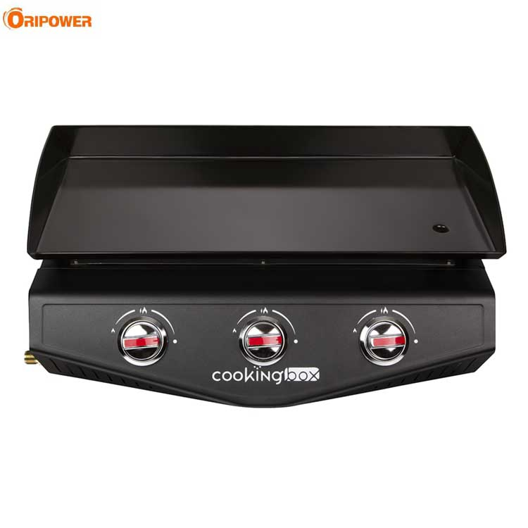 3-BURNER Gas Plancha